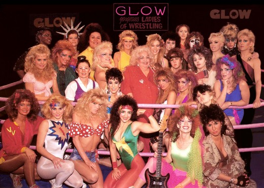 GLOW: Gorgeous Ladies of Wrestling Cast