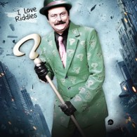 Ron Swanson as The Riddler - Parks and Recreation x Batman