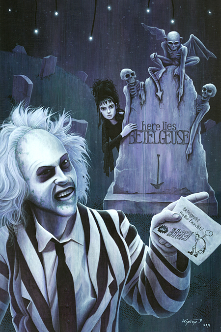 Beetlejuice: Third Time's the Charm by Byron Winton