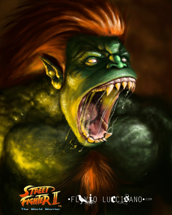 Street Fighter: Blanka by Flavio Luccisano
