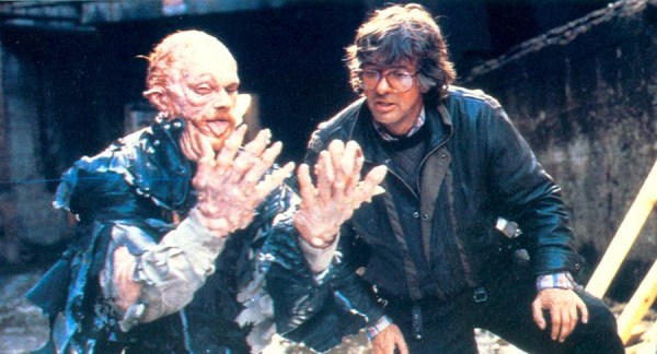 RoboCop Behind the Scenes Photo - Paul Verhoeven and Paul McCrane