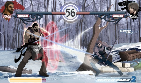 Game of Thrones Excel: Khal Drogo vs Robb Stark