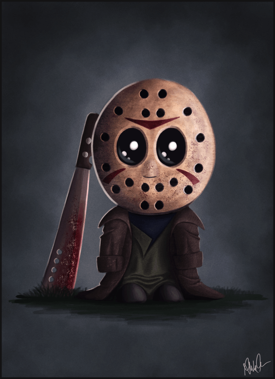 Jason Voorhees Jr. by Monkey Gekko - Friday the 13th