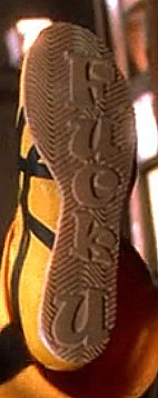 Kill Bill Easter Egg - The Bride's Shoes Close-up