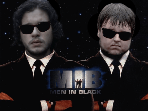 Game of Thrones - Men in Black