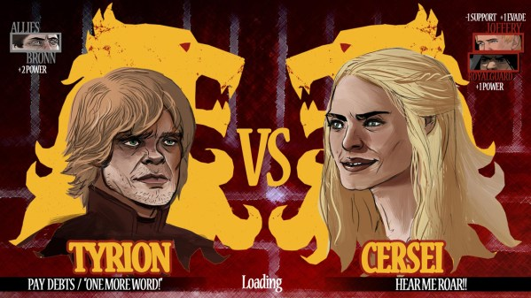 Game of Thrones Excel: Tyrion Lannister vs Cersei Lannister