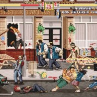 Shaun of the Dead as a Side Scrolling Beat 'Em Up Game