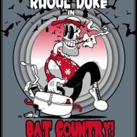 Raoul Duke in Bat Country! - Fear and Loathing in Las Vegas 1925 Cartoon