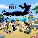 Lost Starring Disney Characters