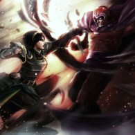 Metal Benders: Toph Beifong vs Magneto by ~Julian-Grei [Avatar / X-Men]