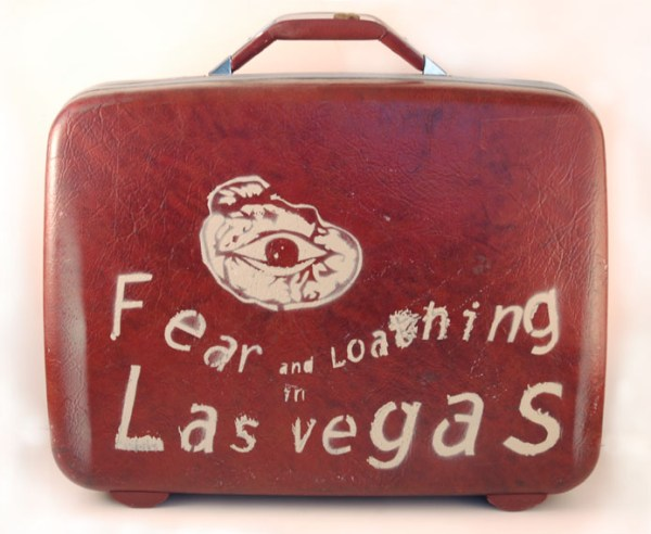Fear and Loathing Board Game - Suitcase - Hunter S. Thompson
