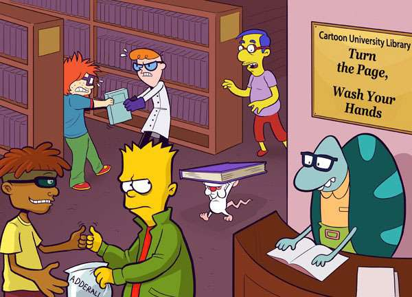 Bart Simpson, Milhouse, Dexter, Chuckie Finster, rugrats