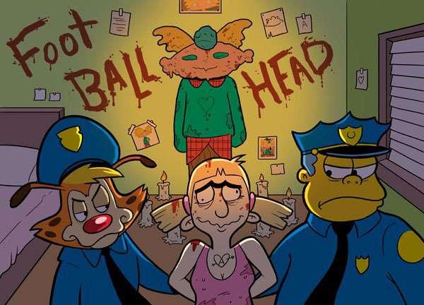 Helga Pataki, Hey Arnold, chief wiggum, Bonkers