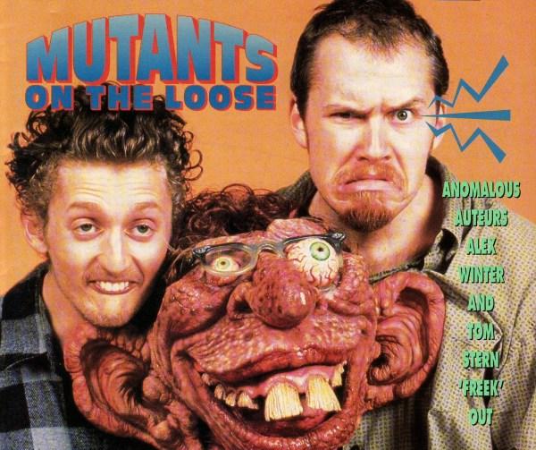 Film Threat June 1993 - Alex Winter & Tom Stern - Freaked