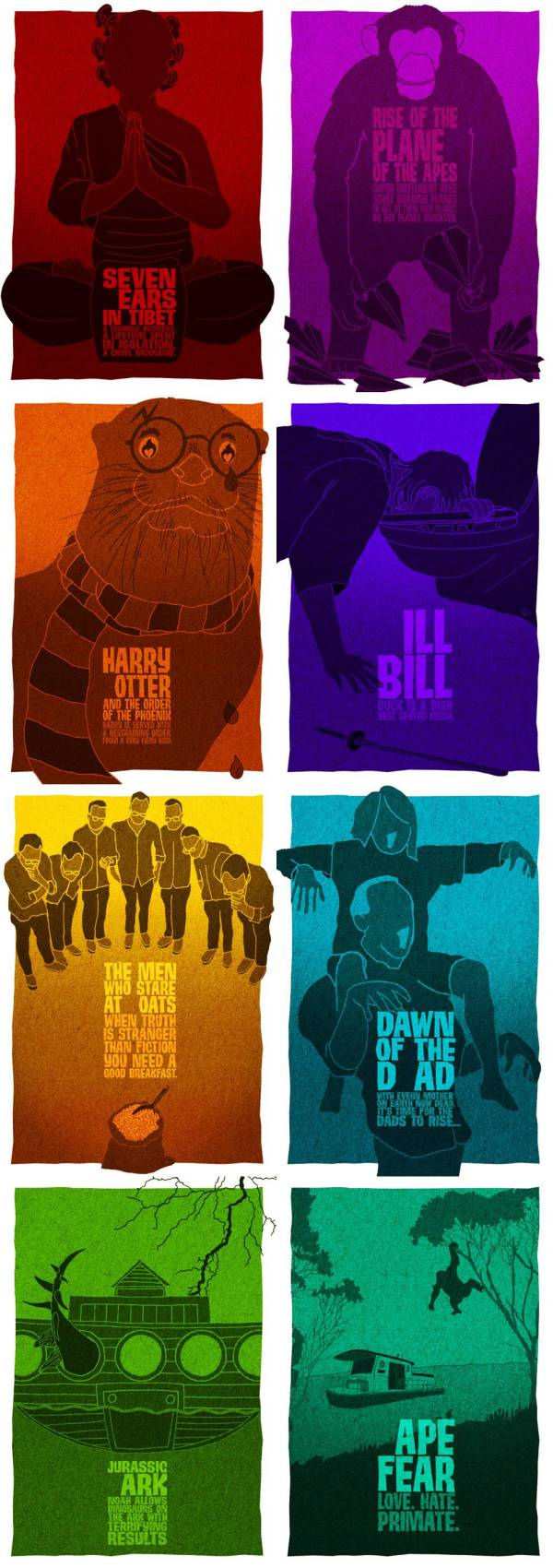 Movie Posters with One Letter Removed