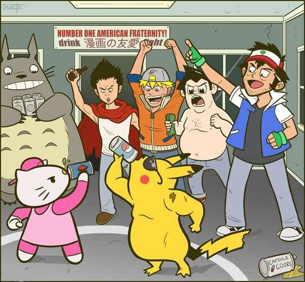 hello kitty, pikachu, pokemon, akira, tetsuo, ash, my neighbor totoro, astro boy, Naruto Shippuden