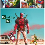 Breaking Bad x Deadpool Mashup Art by Marco D'Alfonso - fanart, mashup, comics, tv