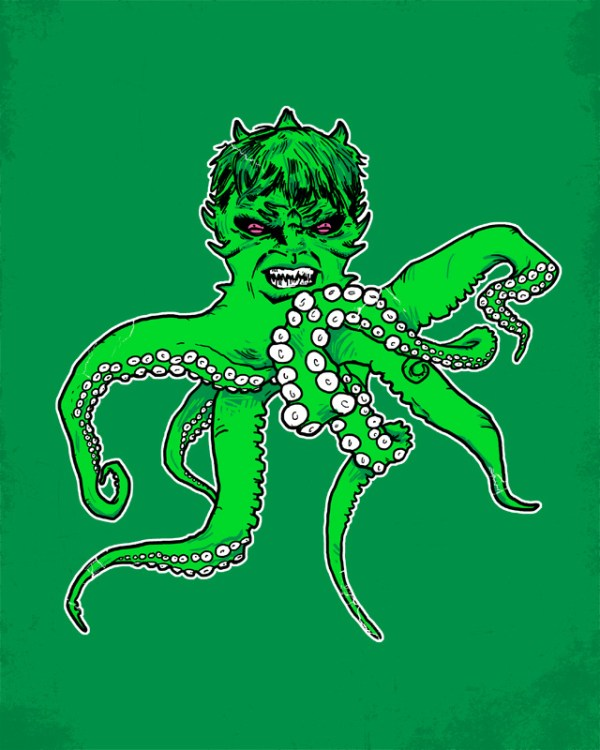 Hulkthulhu: Incredible Hulk x Cthulhu by Hillary White - H. P. Lovecraft, Avengers