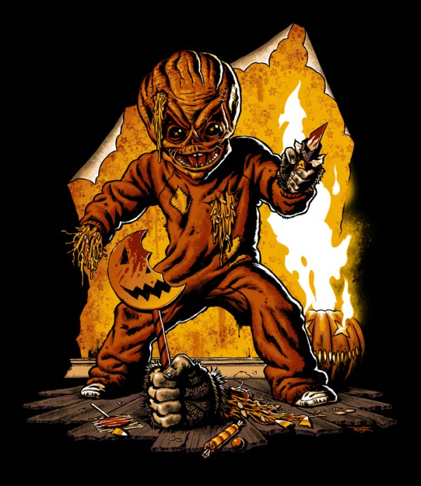 Trick R Treat by Jason Edmiston - Halloween, Horror Anthology, Art
