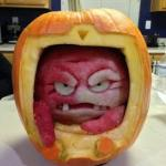 Pumpkin Krang - Halloween, TMNT, Teenage Mutant Ninja Turtles, Jack-O'-Lantern
