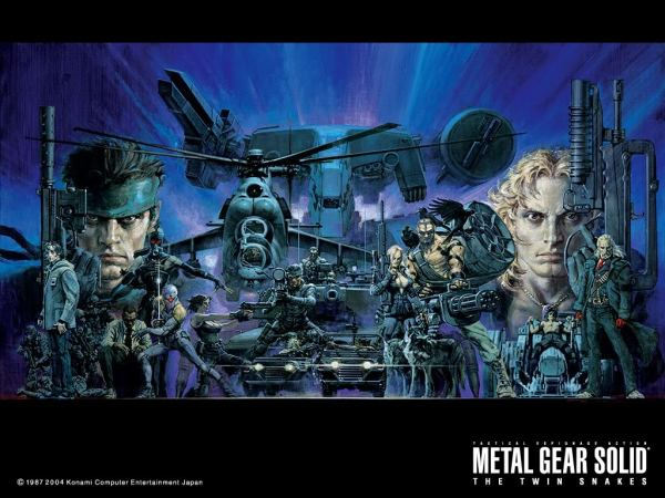 Metal Gear Solid Artwork by Noriyoshi Ohrai - Video Games, Illustration