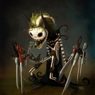 BeetleJack-ScissorMan - Tim Burton Character Mashup by heckthor