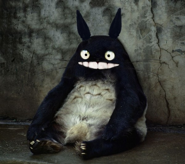 My Neighbor Totoro - Hayao Miyazaki, Studio Ghibli, Anime, Realistic
