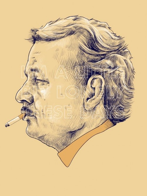 &quot;I&#039;m a little bit lonely these days&quot; - Bill Murray as Herman Blume in Rushmore by Wes Anderson