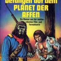 German Planet of the Apes Paperback Cover - George Alex Effinger