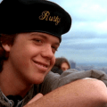 Jason Lively as Rusty Griswold with Beret in European Vacation