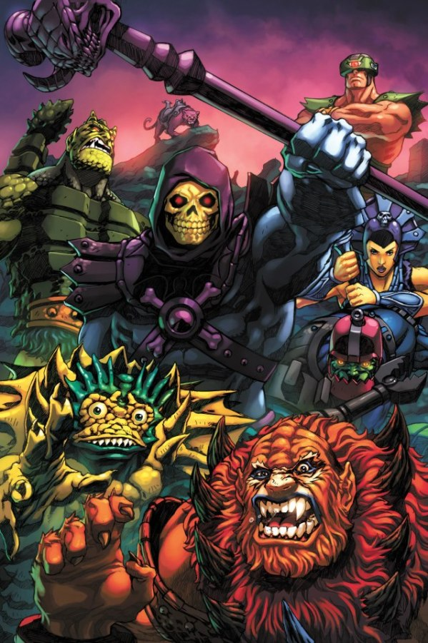 Masters of the Universe, The Bad Guys by Espen Grundetjern - He-Man Art