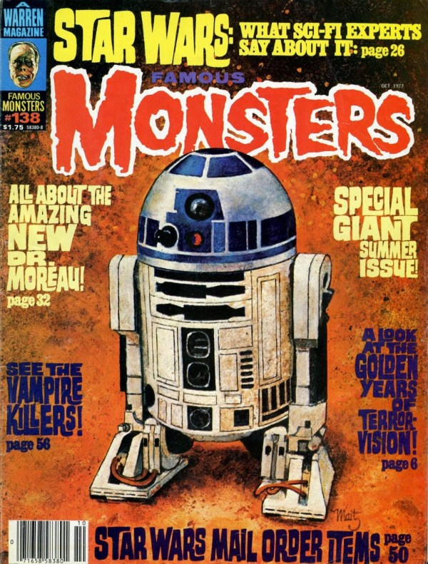 Famous Monsters of Filmland #138 - Star Wars R2-D2