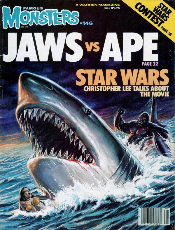 Famous Monsters of Filmland #146 - Jaws vs Ape