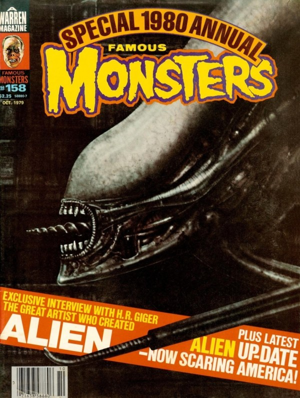 Famous Monsters of Filmland #158 - Alien
