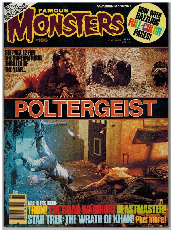 Famous Monsters of Filmland #186 - Poltergeist