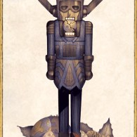 Planet Cracker: Galactus as a Nutcracker by DeadlyMike