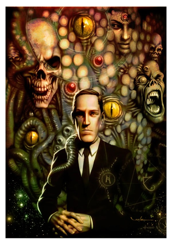 H. P. Lovecraft by Carlos Valenzuela