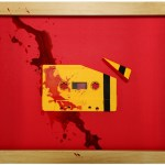 Kill Bill Cassette Tape Art by Benoit Jammes