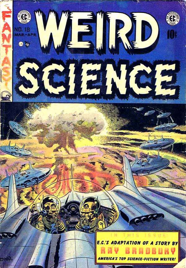 Weird Science 18 Cover Art by Wally Wood