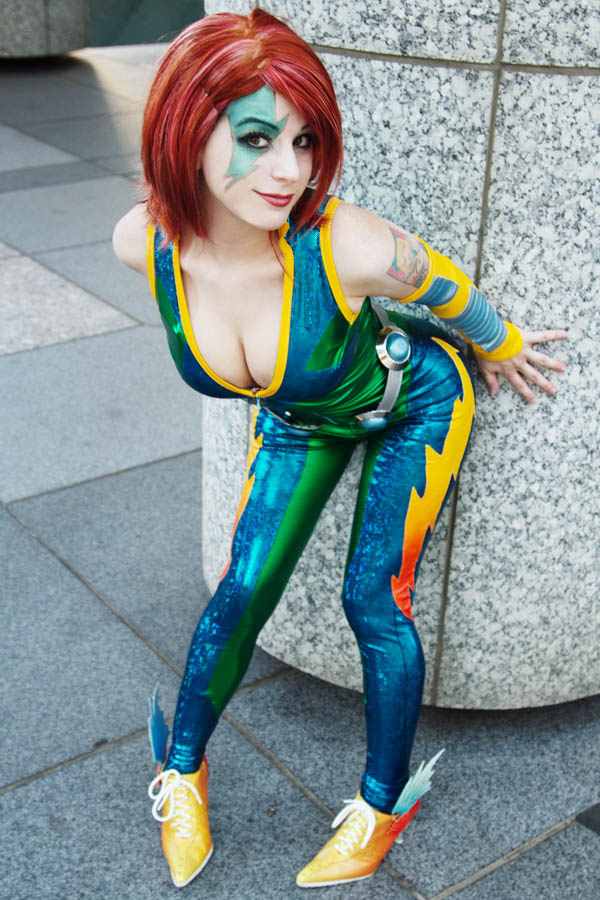 Cosplay: Velocity from Cyberforce - Limebarb.com