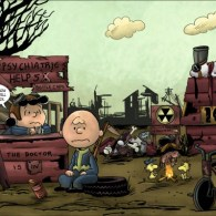Post-Apocalyptic Peanuts: Charlie Brown x Fallout by Cynthia Rodgers