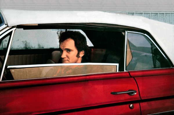 Quentin Tarantino in 1964 Chevrolet Malibu from Pulp Fiction