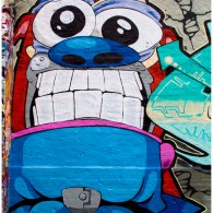 - Ren and Stimpy Street Art