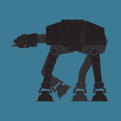 Knight Rider AT-AT - KITT, Star Wars