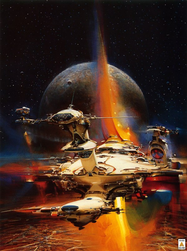 Science Fiction Illustrations by John Berkey - Sci-Fi Space Art (8)