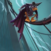 The Duck Knight Returns by Jake Myler - Darkwing Duck x Batman