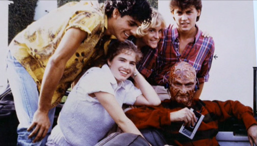 Nightmare on Elm Street behind the scenes photos, lobby cards, posters, promotional pictures (18)