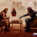 He-Man vs Skeletor: Chess Battle for Eternia - masters of the universe art