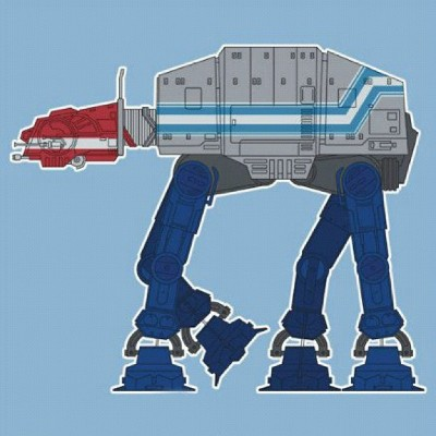 Optimus Prime AT-AT - Star Wars, Transformers