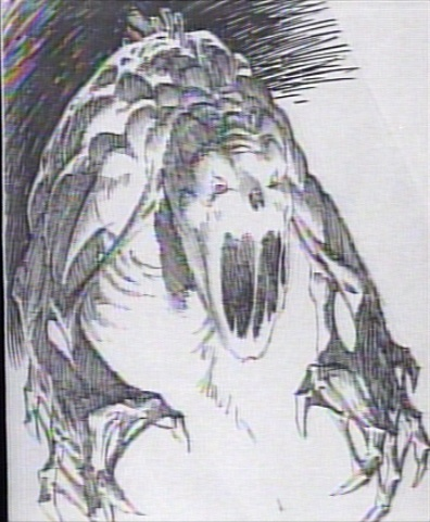 Ghostbusters: Gozer Concept Art by Berni Wrightson